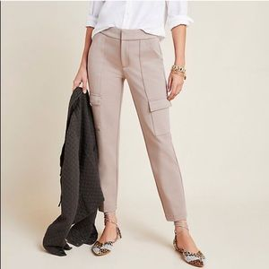 Anthropologie Essential Slim Cargo Trousers